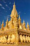 Vientiane - Pha That Luang Stock Photo