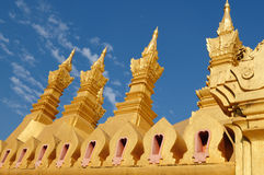Vientiane - Pha That Luang Royalty Free Stock Photo