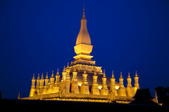 Vientiane. Pha That Luang Stock Image