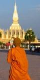 Vientiane - Pha que Luang imagens de stock