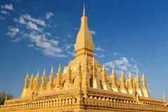 Vientiane - Pha qui Luang images libres de droits