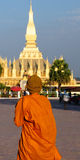 Vientiane - Pha qui Luang Images stock