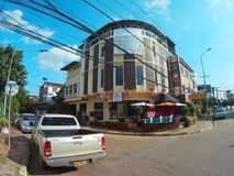 Vientiane-Stadt, Loas Lizenzfreies Stockfoto