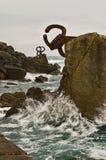 viento de del peine San Sebastian Espagne Image stock