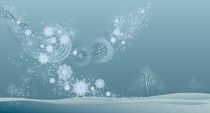 Viento del invierno Fotografía de archivo