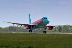 Viento Rose Aviation Airbus A321 Fotos de archivo