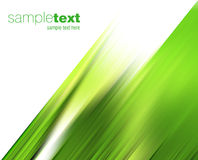 Viento verde abstracto Imagen de archivo libre de regalías