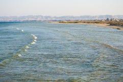 Viento y mar Fotografía de archivo
