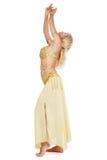 Vientre-bailarín Foto de archivo