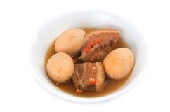 Vientre de cerdo caramelizado vietnamita Imágenes de archivo libres de regalías
