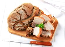 Vientre de cerdo de carne asada Imagen de archivo