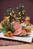 Vientre de cerdo de carne asada Imagen de archivo libre de regalías