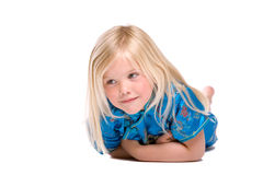 Vier éénjarigenmeisje Royalty-vrije Stock Afbeelding