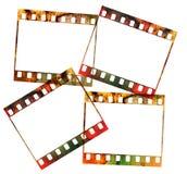 Vier 35mm Plättchen, Lizenzfreies Stockfoto
