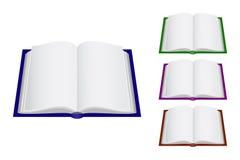 Vier Bücher lizenzfreie abbildung