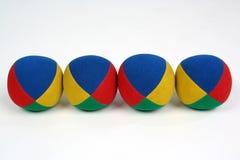 Vier ballen Stock Fotografie