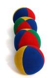 Vier ballen Royalty-vrije Stock Afbeeldingen