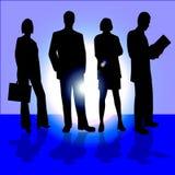 Vier bedrijfsmensen Stock Afbeeldingen
