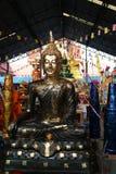 Vier Bilder von Buddha Stockfotos
