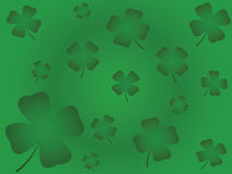 Vier Blatt-Klee Lizenzfreies Stockfoto