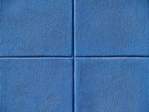 Vier blaue Quadrate Stockbilder