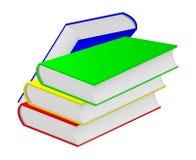 Vier boeken. Stock Fotografie
