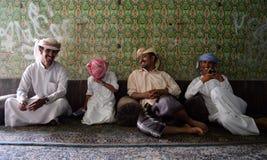 Vier broers het lachen Stock Afbeeldingen