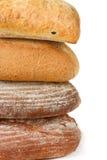 Vier Brote. Lizenzfreie Stockbilder