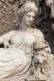 Vier Brunnen ist eine Gruppe von vier späten Renaissancebrunnen in Rom, Lizenzfreie Stockfotografie