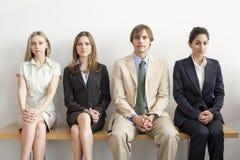 Vier Businesspersons Lizenzfreie Stockbilder