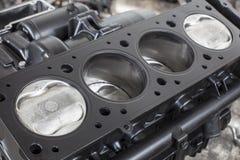 Vier cilinders Stock Afbeelding