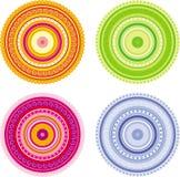 Vier cirkels Royalty-vrije Stock Fotografie