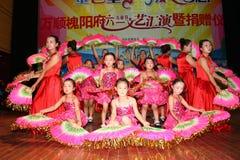 Vier de Dag van Kinderen: dans prestaties Royalty-vrije Stock Afbeeldingen
