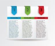 Vier document vooruitgangskaarten. Stock Afbeeldingen