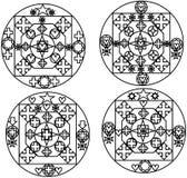 Vier droom-bekwame stijlen voor het werken in metallica ` s Stock Afbeelding