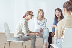 Vier erfolgreiche Frauen Lizenzfreie Stockfotos