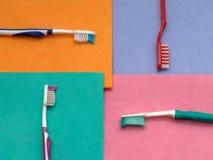 Vier Farben Stockfotografie