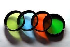 Vier Farben Lizenzfreies Stockfoto