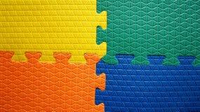 Vier Farbgummihintergrund lizenzfreie stockfotos