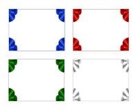 Vier feestelijke frames Royalty-vrije Stock Afbeelding