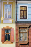 Vier Fenster Stockbilder