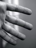 Vier Finger stockbilder
