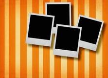 Vier fotoframes Royalty-vrije Stock Foto