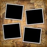 Vier Fotos Stockfotografie