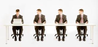 Vier Geschäftsmann Lizenzfreie Stockfotos