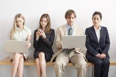Vier Geschäftspersonen Lizenzfreies Stockfoto