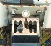 Vier Geschwindigkeits-Traktor-Schalthebel Lizenzfreies Stockbild