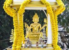 Vier Gesicht brahma Statue Lizenzfreies Stockfoto