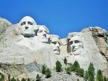 Vier großer Mann-Berg Rushmore Stockbilder