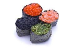 Vier Gunkan Maki Stockfotografie